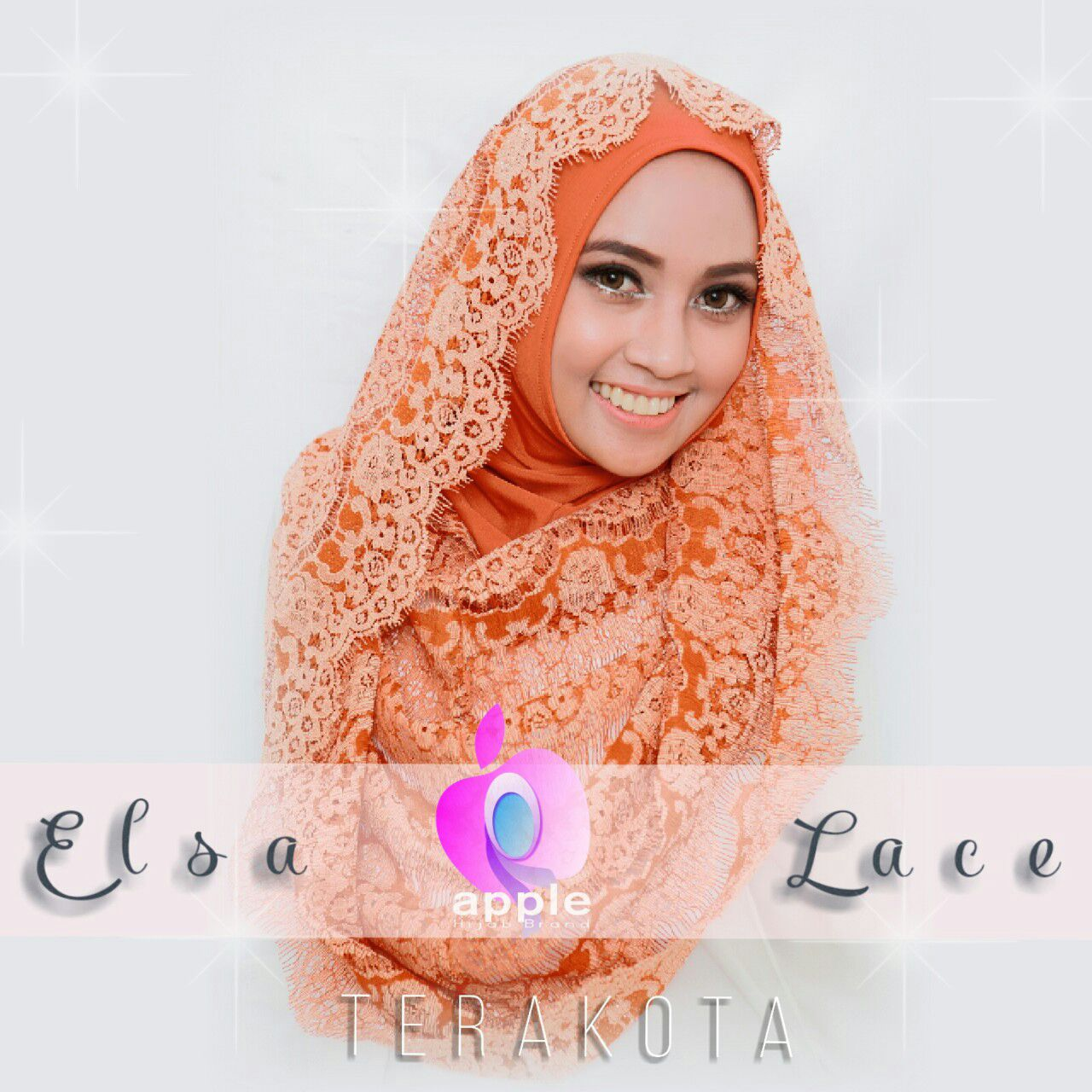 Elsa Lace Hoodie By Apple Hijab Brand