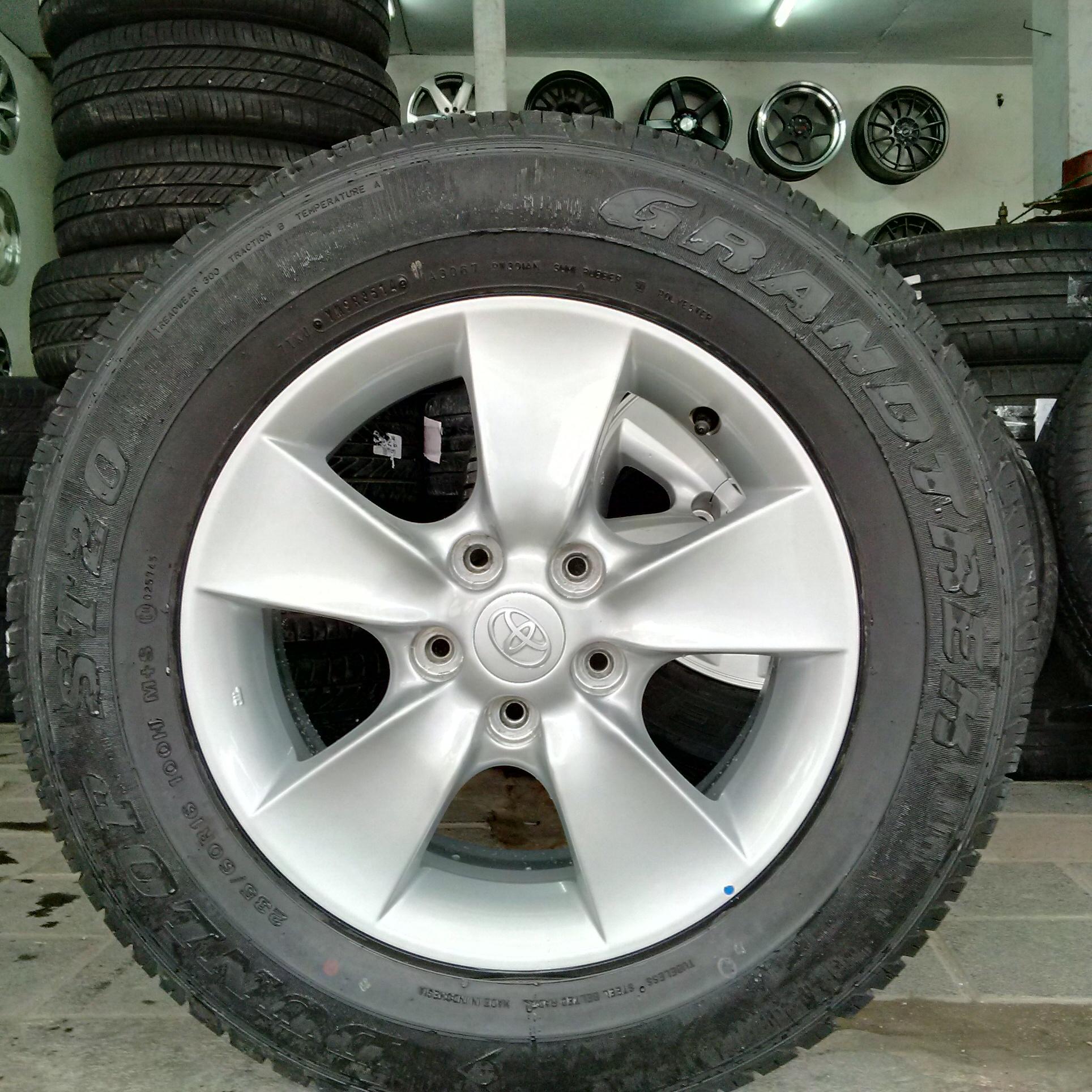 VELG STD Toyota RUSH + BAN R16 DUNLOP ... MONGGO
