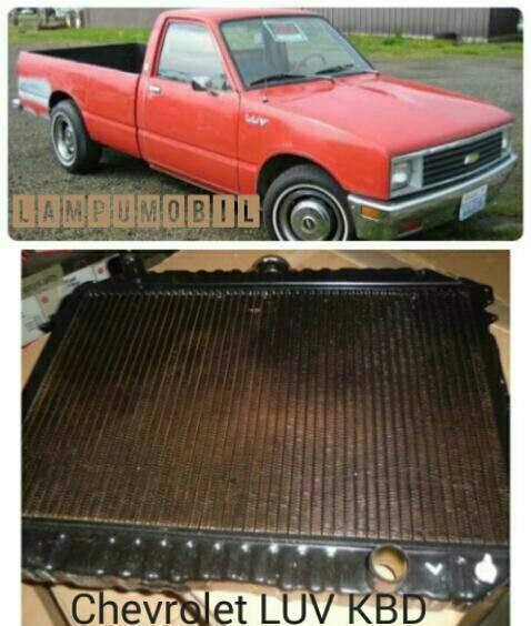 Jual Radiator Chevrolet Luv Kbd25 1981 Lampumobil Tokopedia