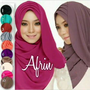 Hijab/Jilbab Instant Afrin