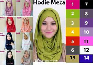hijab/jilbab Hoodie Instant Zaskia Mecca