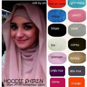 Hijab/Jilbab Hoodie Shireen