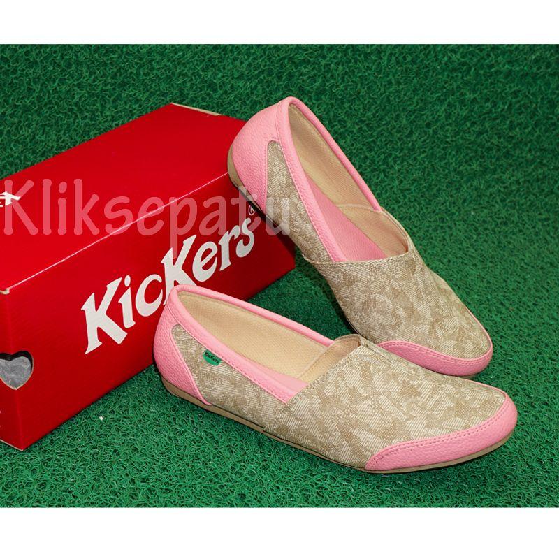 Jual Sepatu Kickers Cewek Pink