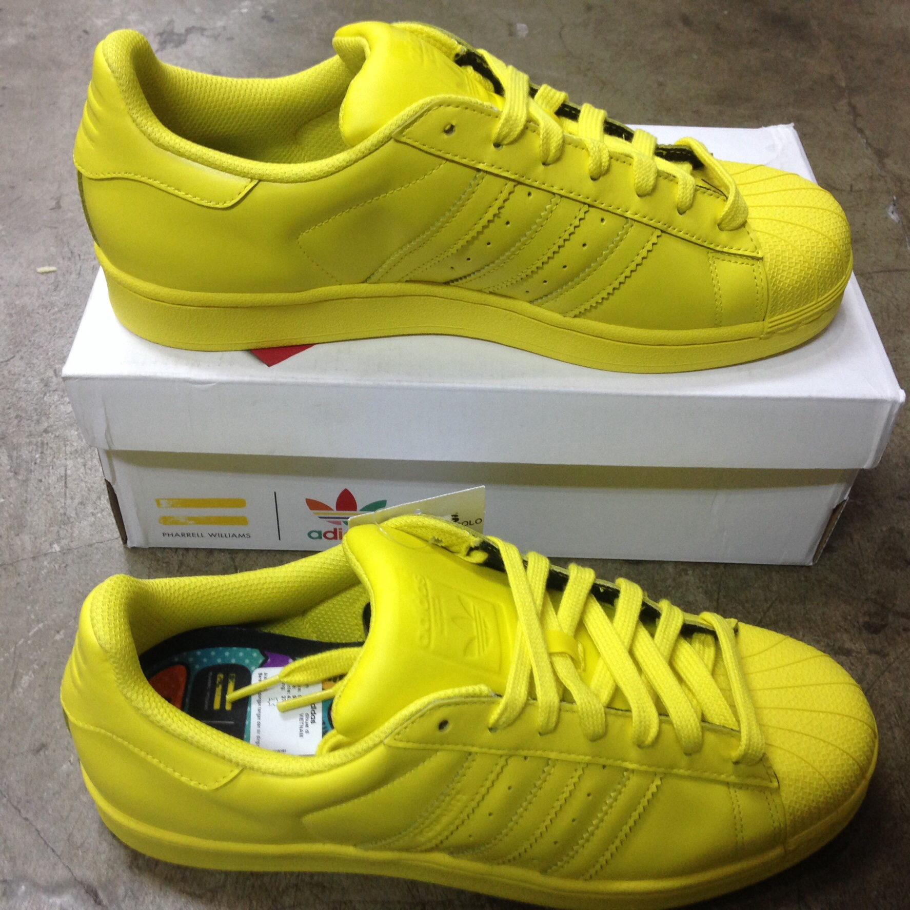 Jual Adidas Superstar Supercolor Pack Yellow Sz 43 1 3. Sepatu ... c9cc8cf702
