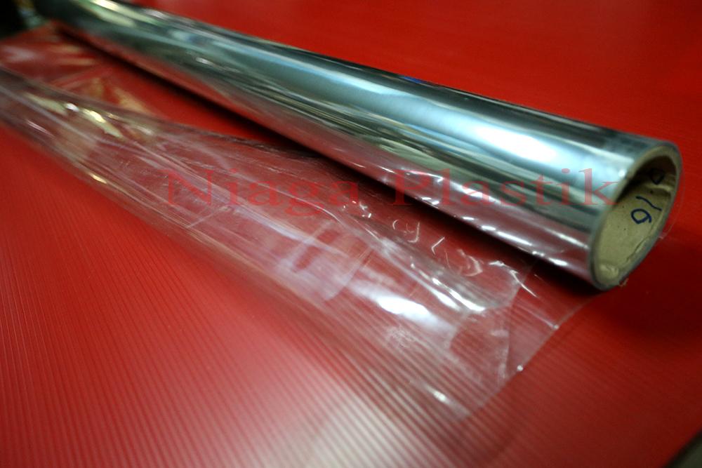 Jual Plastik PVC Mika Biasa 12 Mikron Niaga Plastik