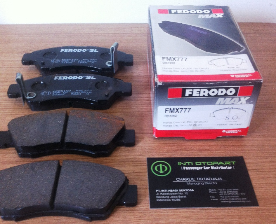 Brake Pad/ Kampas Rem Depan FERODO MAX Jazz GD3/ New City 2nd Gen