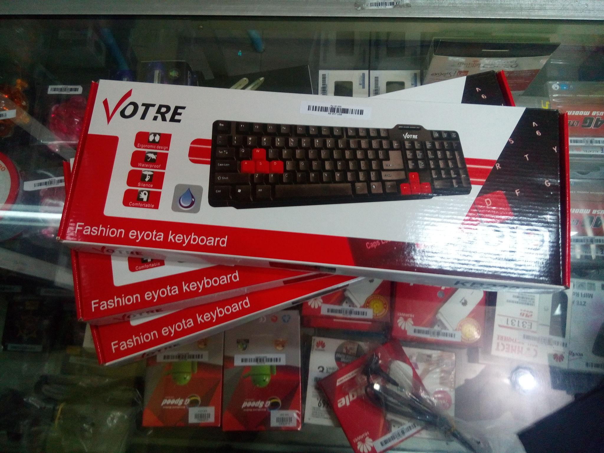 Jual Keyboard Votre Kb2308 Usb Murah Central Acc Mouse Optick Voltre Jogja Tokopedia