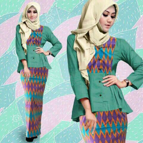Hijab Intan Tribal