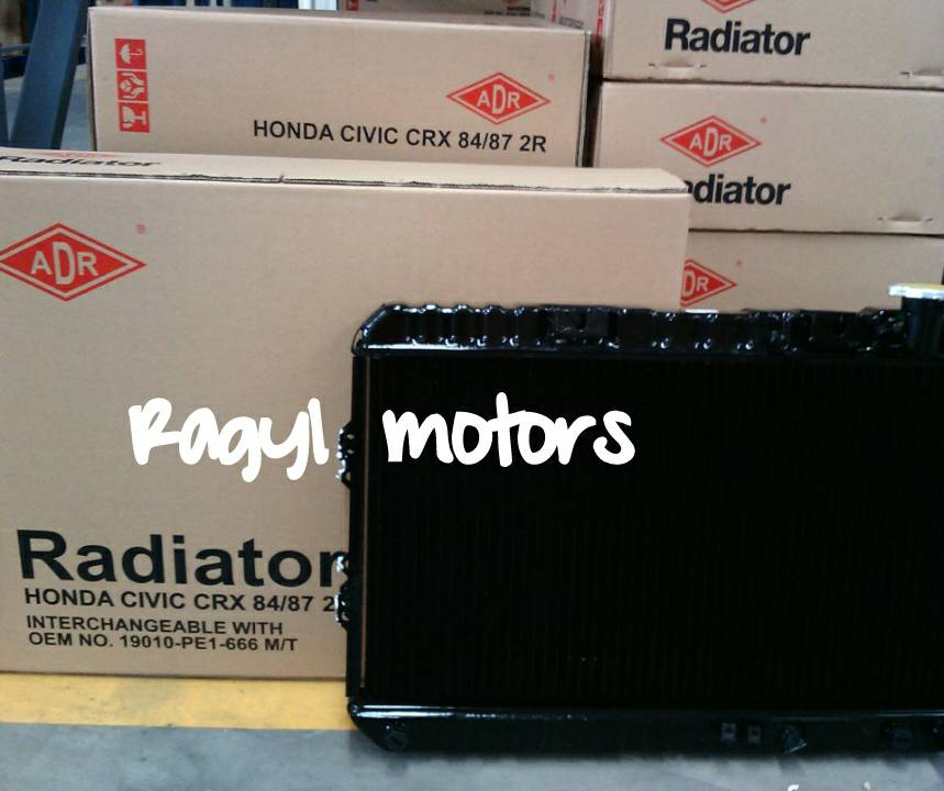 Radiator HONDA CIVIC CRX/WONDER Manual `84-`87
