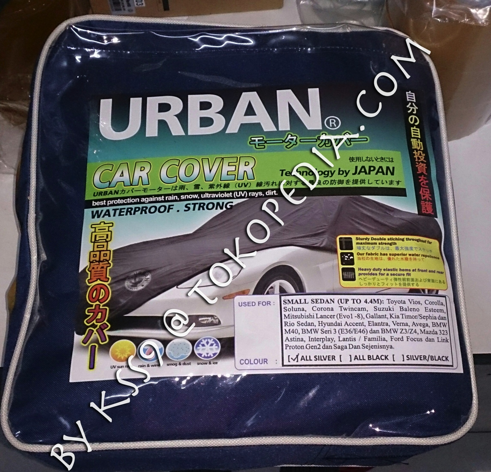 Bungkus Mobil / Body Cover Urban SMALL SEDAN VIOS JAZZ-2014 YARIS-2014