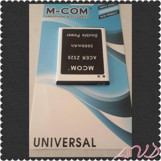 Jual Baterai Hp Acer Type Z520 Double Power Merk M Com