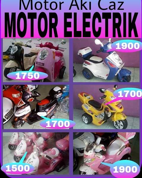 MOTOR/MOBIL ELECTRIK ANAK