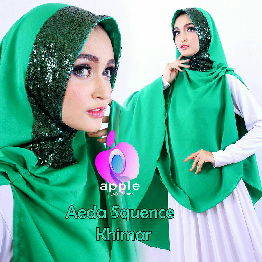 Aeda Squence - Aeda Squin By Apple Hijab Brand