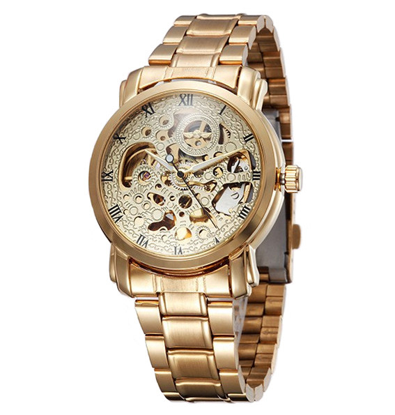 Winner U8008 Skeleton Automatic Mechanical Watch (Jam Tangan Otomatis)