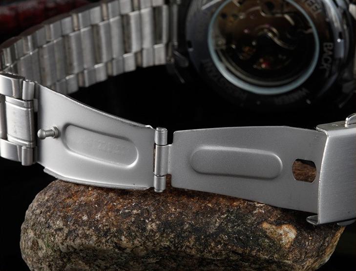 Winner U8008 Skeleton Automatic Mechanical Watch (Jam Tangan Otomatis)