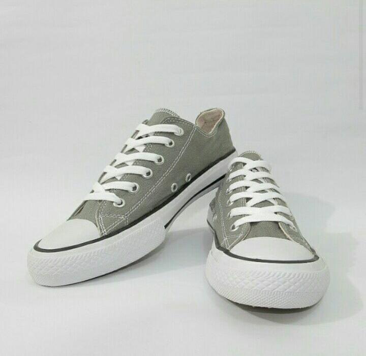 Jual Sepatu Converse Abu abu / Gray , Grade Original