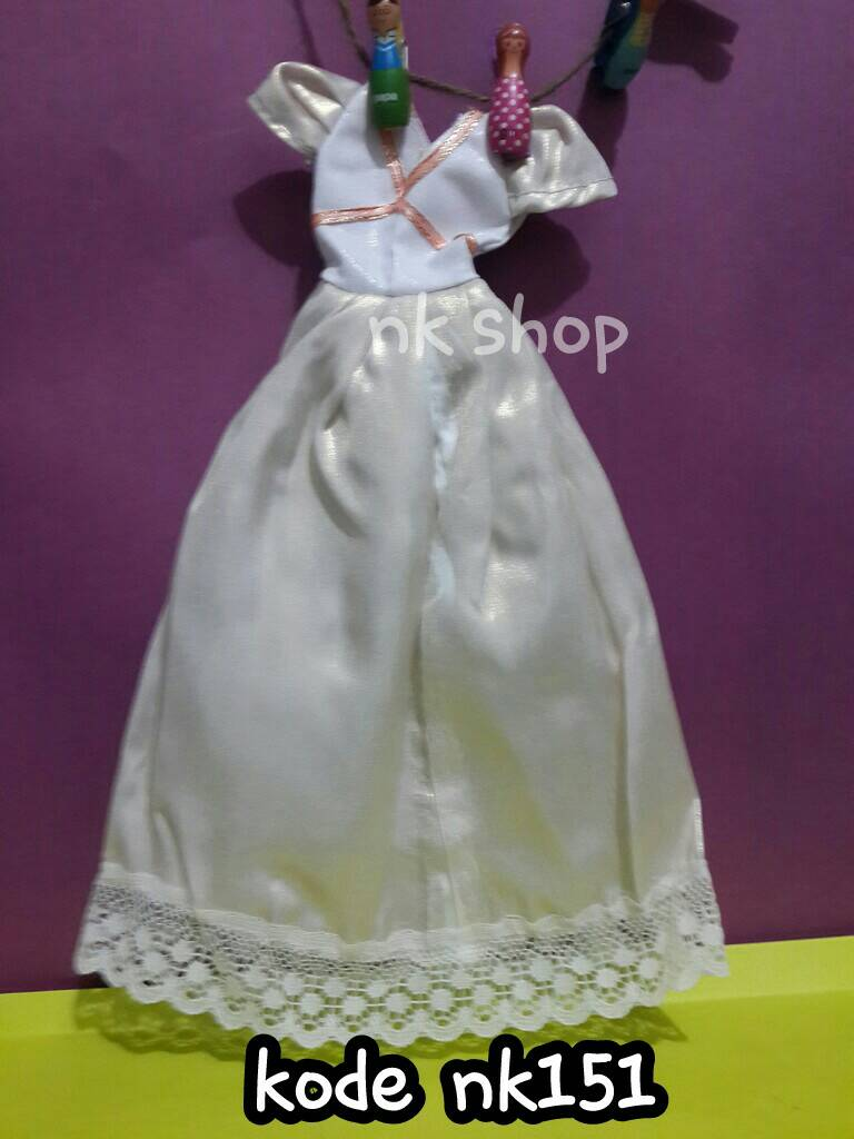 Jual Baju Gaun Boneka Barbie Di Indonesia Katalog Berbie