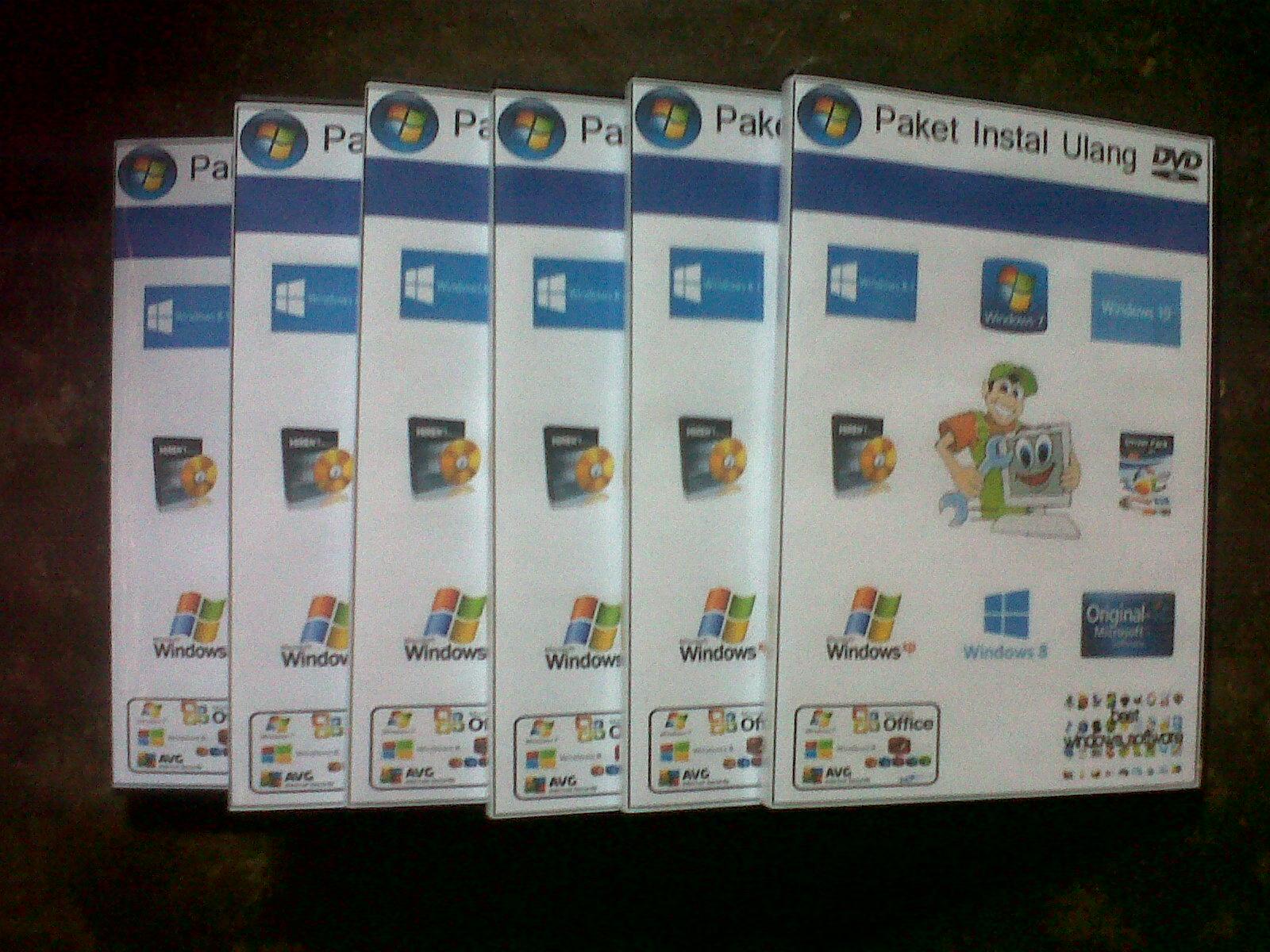 16 Daftar Harga Paket Install Ulang Terlengkap Murah Buruan Cek Di Dvd Instal Komputer Laptop Software Terbaru Dan