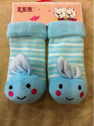 harga kaos kaki rattle blue rabbit Tokopedia.com