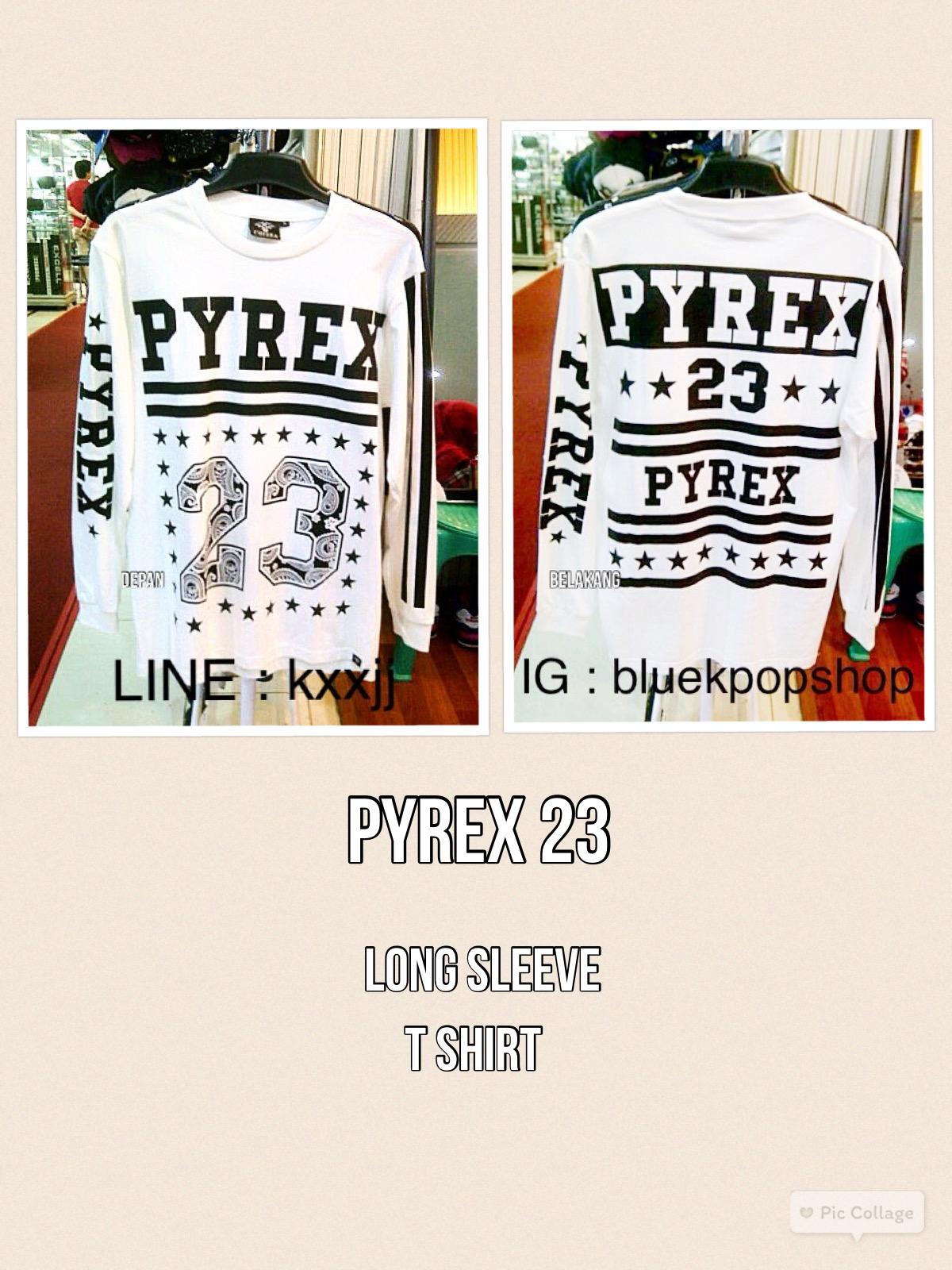 Kaos Tshirt Lengan Panjang Kpop Pyrex 23 Import