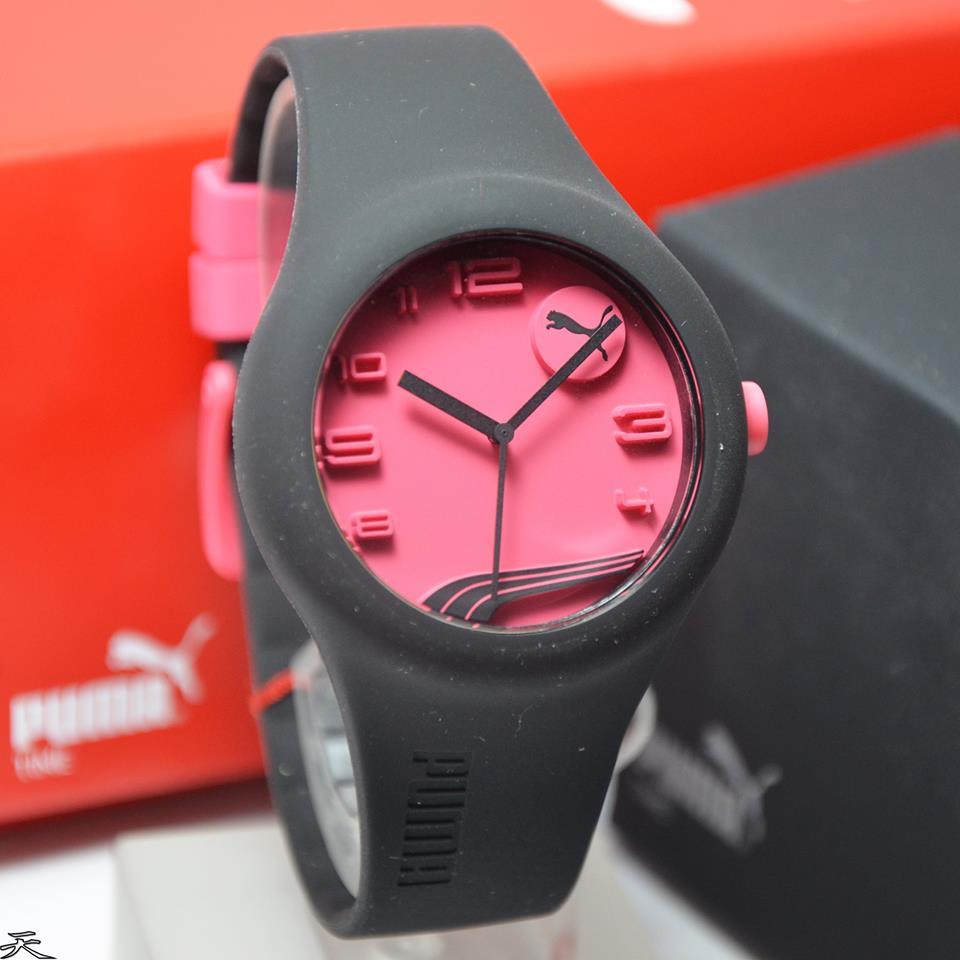 Puma Pu103001012 Jam Tangan Wanita Daftar Harga Terlengkap Pu104131001 Pria Rubber Strap Hitam Kombinasi Merah Jual