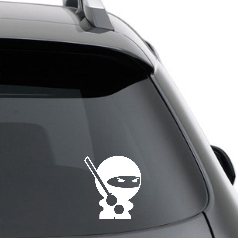 Sticker Mobil ninja livina jazz march yaris wSTR-077