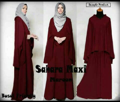 Sahara Maxi/gamis/jilbab/hijab/syari/pasmina/outer