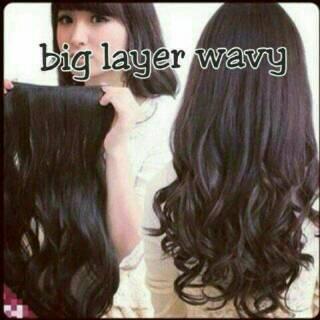 hair clip hairclip hair klip big layar uk.60-65cm wig thumbnail