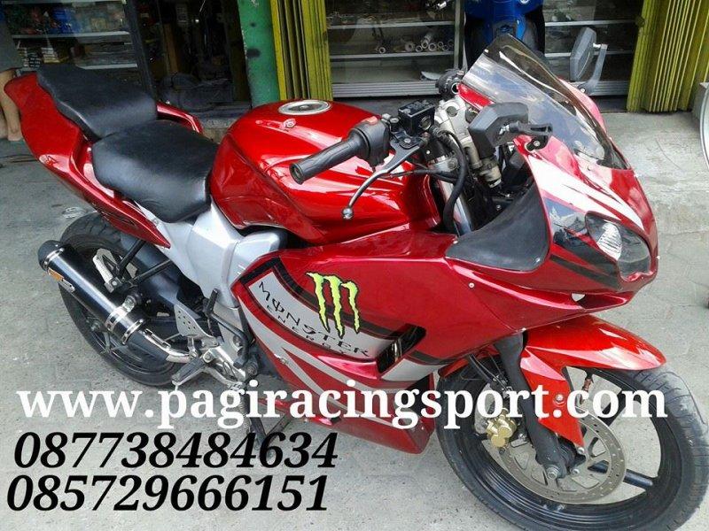 Jual Full Fairing Custom Model Ducaty Di Aplikasikan Ke