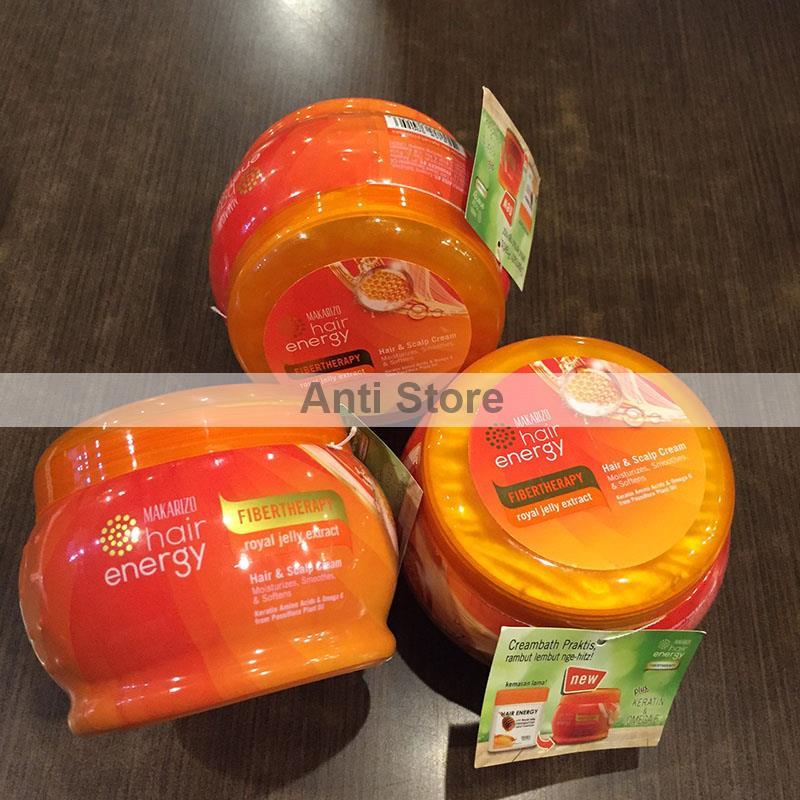 Makarizo Hair Energy Fibertherapy Hair & Scalp Cream With Royal Source · Makarizo Hair Energy With Royal Jelly