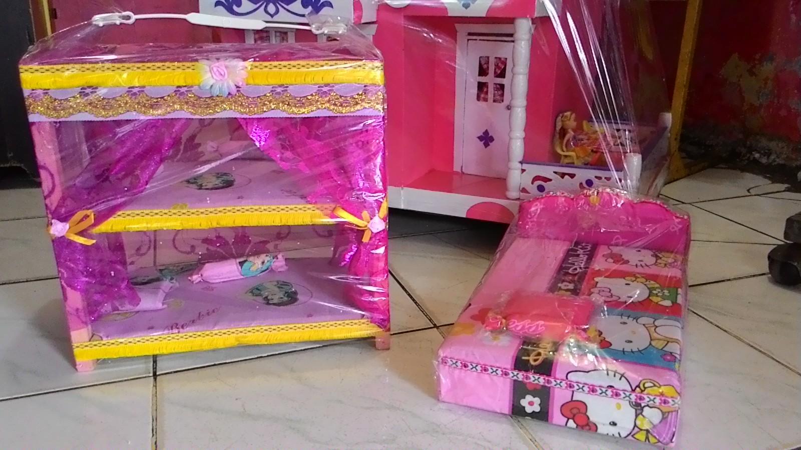 Jual Tempat Tidur Mainan Barbie - Rumah Barbie Jakarta  2cb007812f