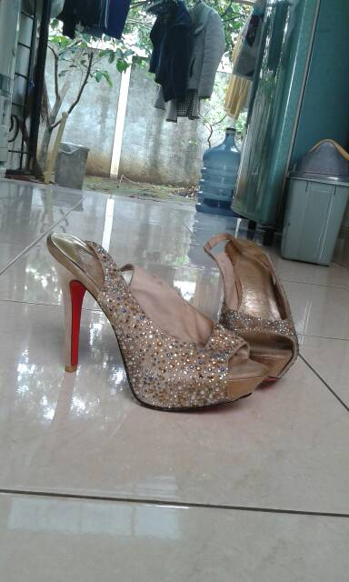 harga heels Rotelli Ori second ex model Tokopedia.com