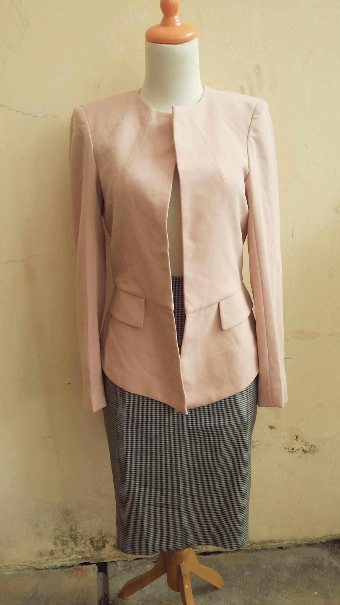 harga preloved Blazer jas jacket outer baju kantor second mango zara Tokopedia.com