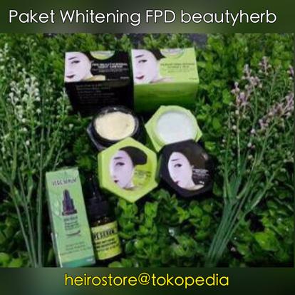 Jual Paket Whitening FPD Magic Glossy Cream Vege Vege