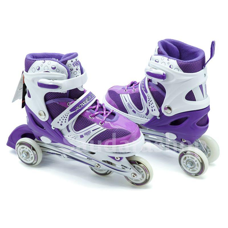 Jual Sepatu Roda Bajaj   Sepaturoda Bajaj Power Super UNGGU - Saudara Shop   0c93d84474