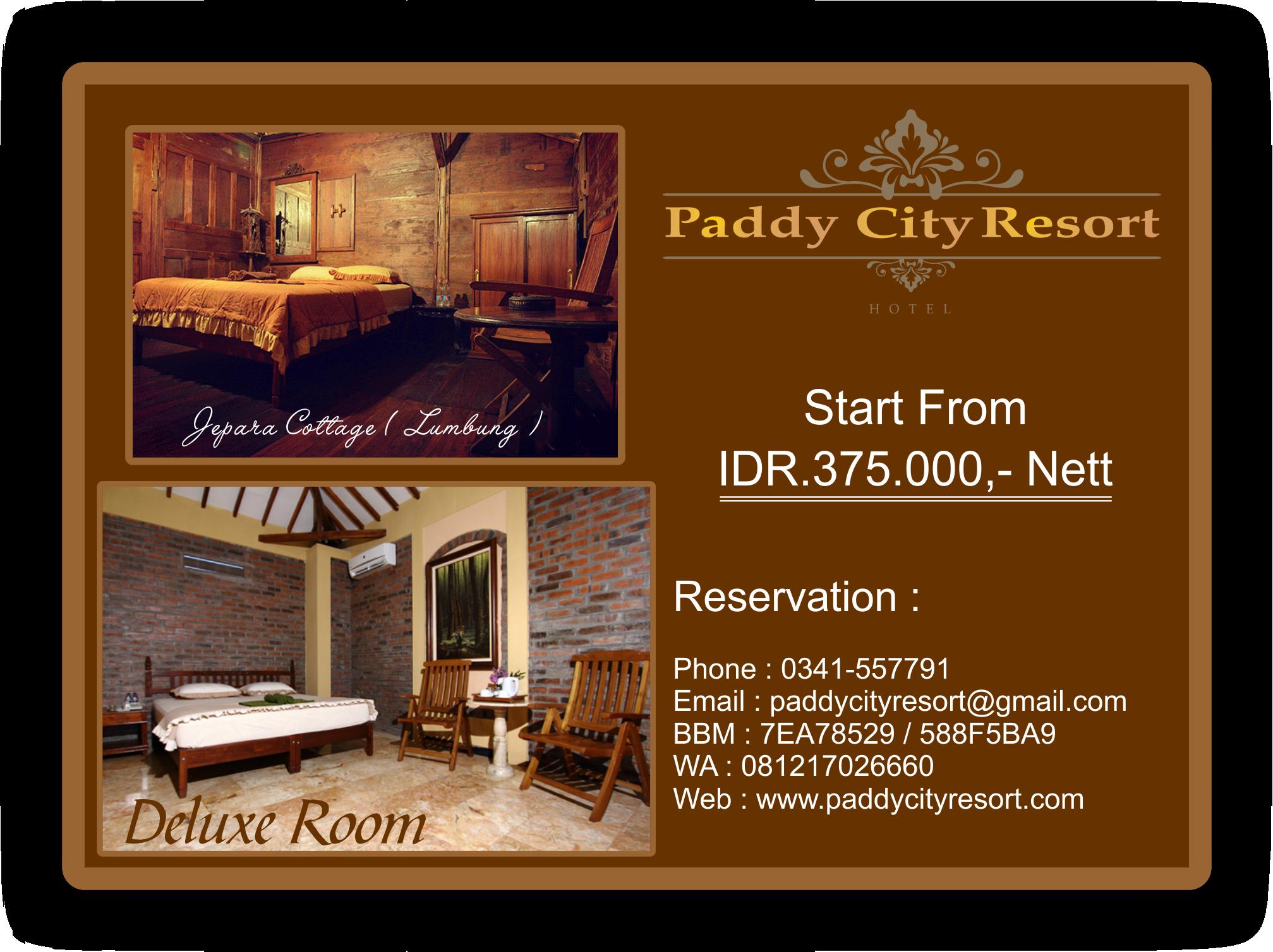 Jual Hotel Paddy City Resort Hotel In Malang Tokopedia