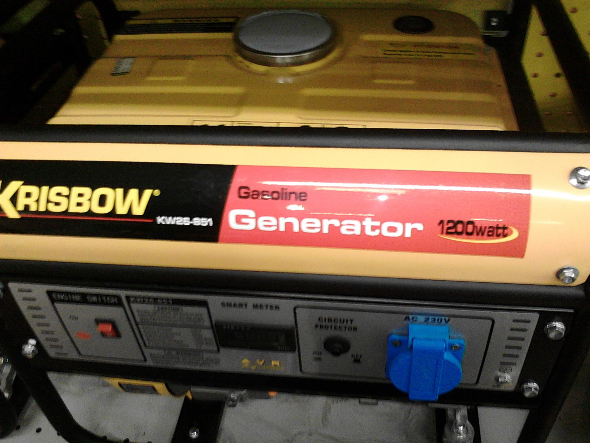 Jual Genset Krisbow 4 Tak 1200 Watt