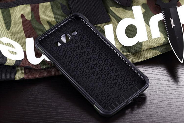 Samsung Galaxy J7 Military Dual Tough Armor Case XPHASE Army Edition
