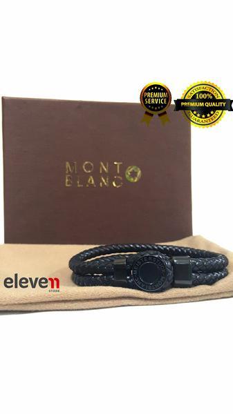 harga Premium Montblanc Brecelet / Brecelet Montblanc Gelang Kulit Import Tokopedia.com