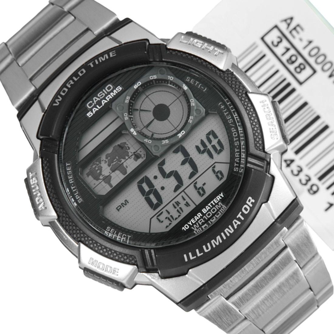 Hitam Online Source · Jual Jam tangan pria casio Original AE 1000WD 1A .
