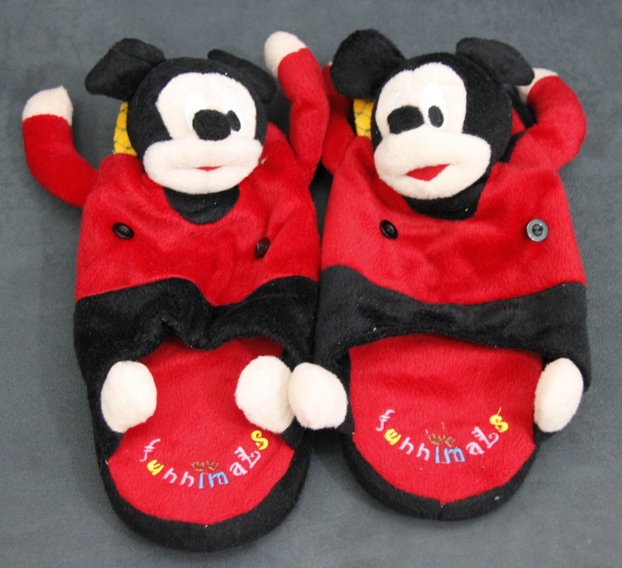 harga Sandal boneka Mickey Mouse merah ukuran besar Tokopedia.com