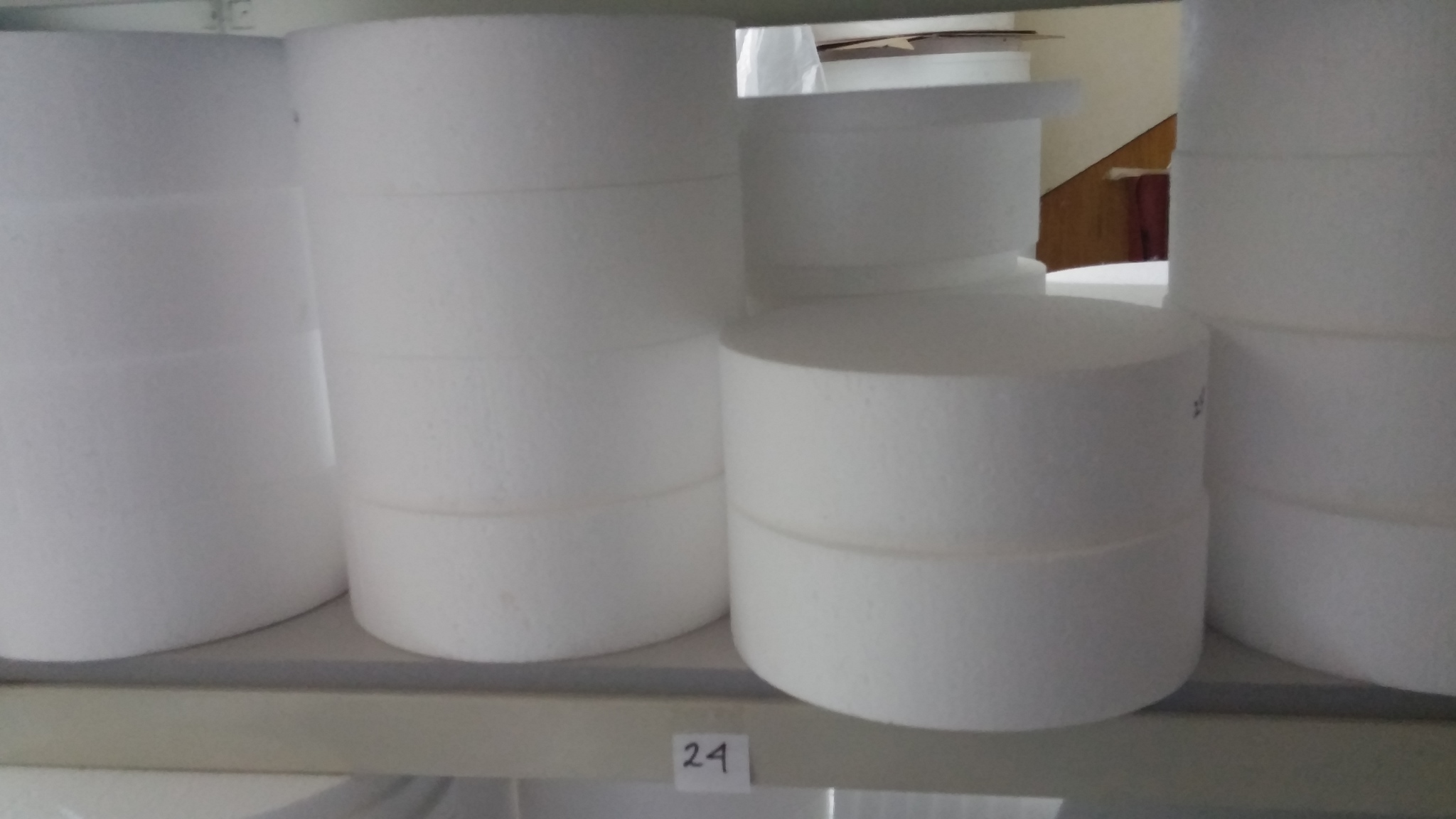 Jual Dummy Cake Ukuran Diameter 24cm Tinggi 2cm OnE On Store - Harga Dummy Wedding Cake