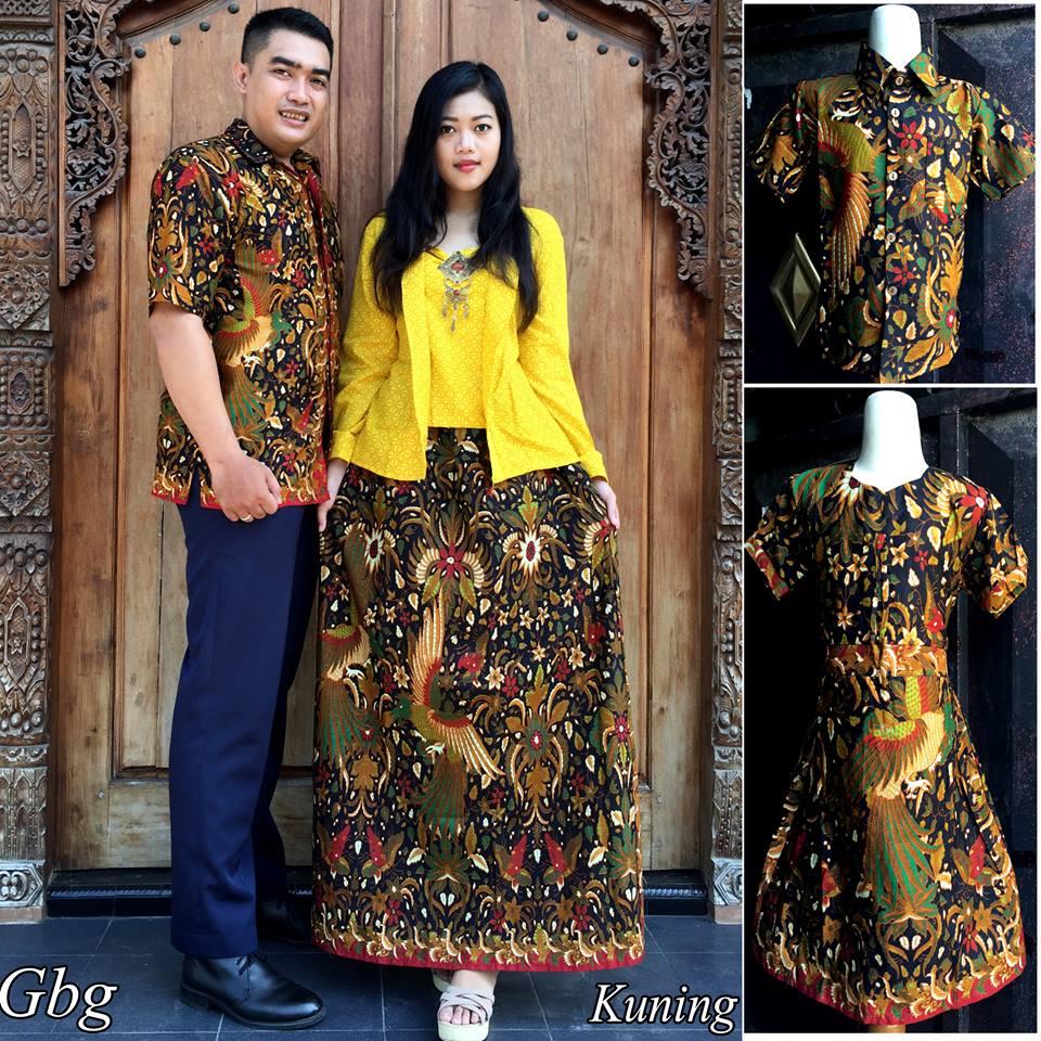 Jual Baju Batik Sarimbit Couple Keluarga Modern Terbaru