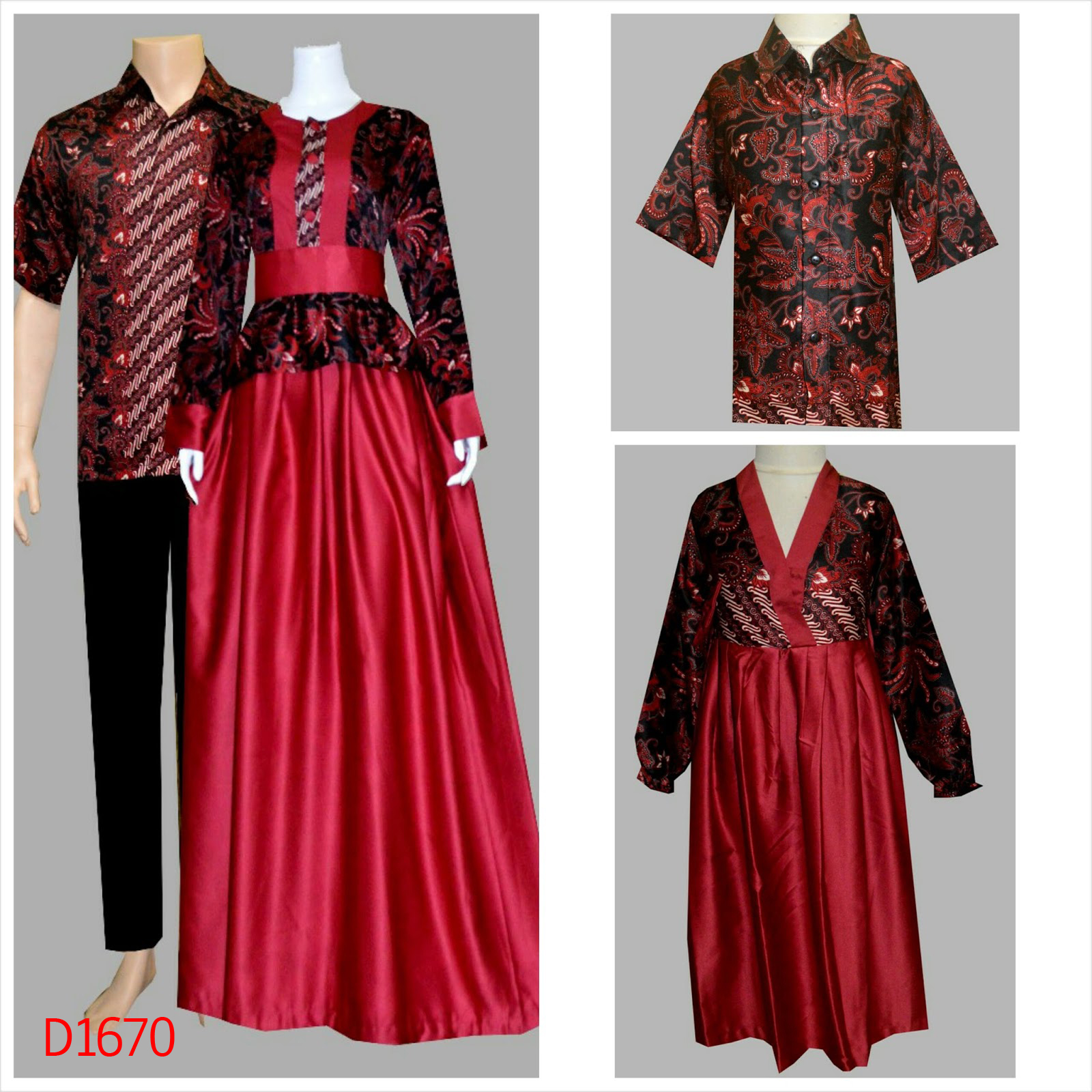 Jual Baju Batik Couple Model Baju Batik Motorcycle