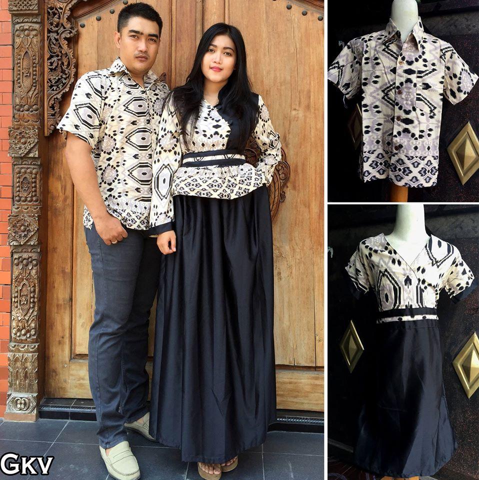 Jual Model Baju Batik Couple Sarimbit Keluarga Terbaru