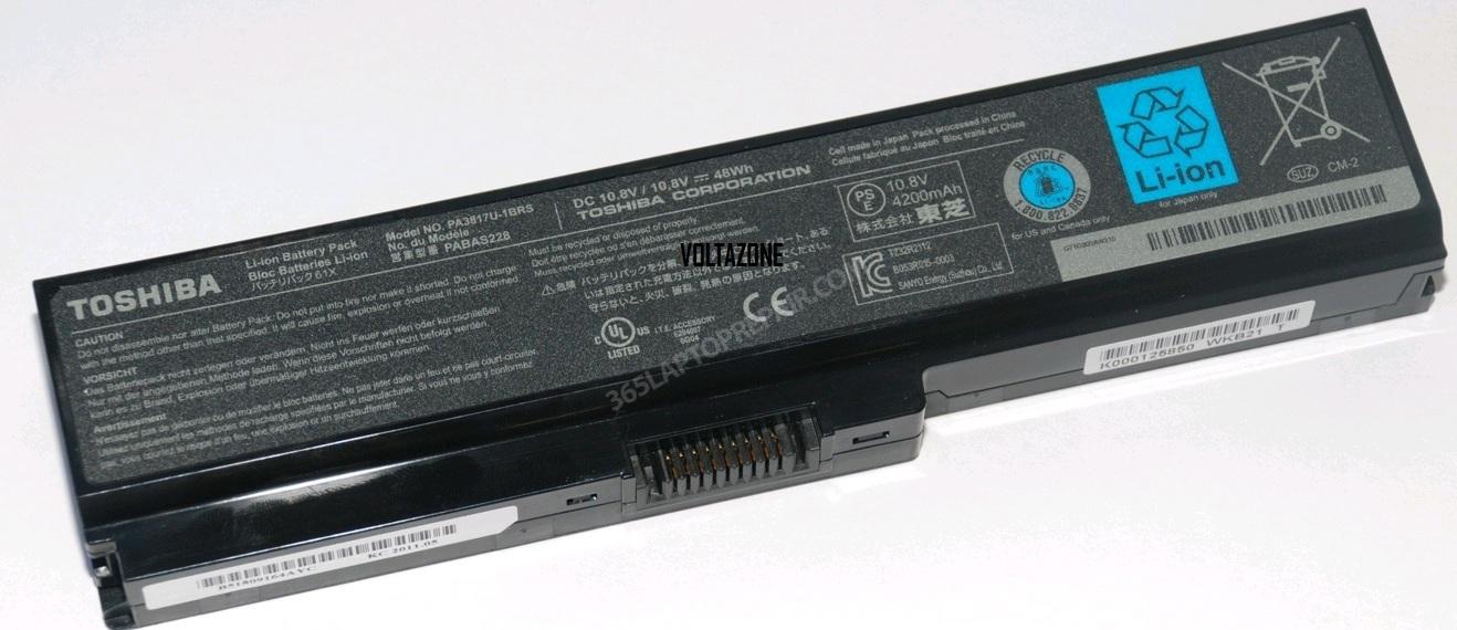 Аккумулятор toshiba pa3817u-1brs, pa3634u-1brs