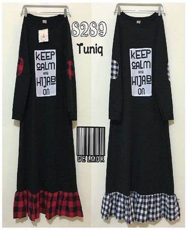 Grosir Baju Murah / Grosir Baju / Baju Muslim / Keep Calm Hijab Tunic
