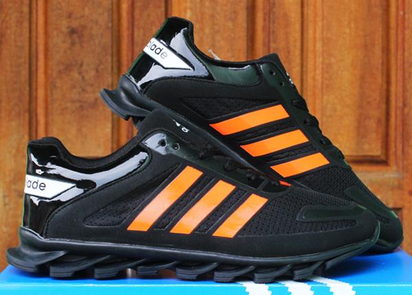 ... cheapest harga sepatu adidas springblade ori jual sepatu running sepatu  lari joggingadidas springblade hitam orange distroonline ... 928441c999