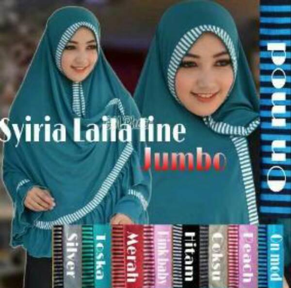 Hijab Jilbab Kerudung SYIRIA LAILA LINE