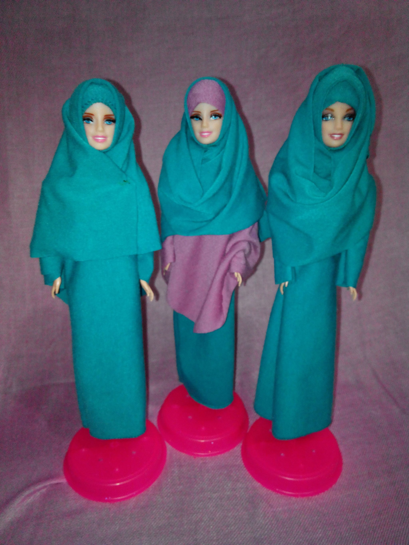 Jual Boneka barbie muslimah - bu de pur  f5a80bd5f7